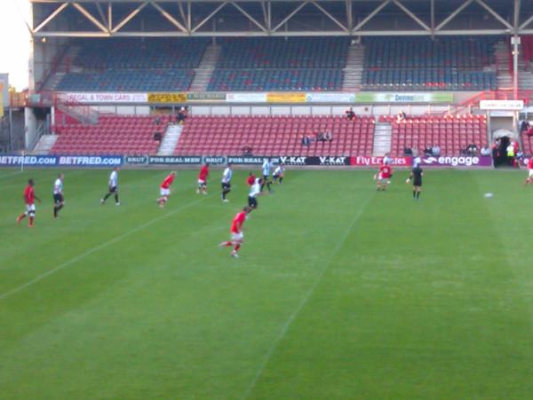Wrexham vs Huddersfield 13/07/11