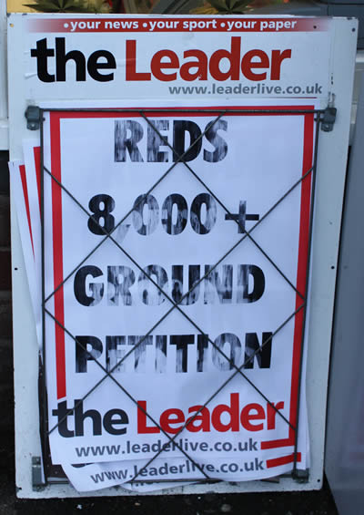 leader noticeboard small Petition